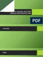 Analisis Gugus Alkohol Dan Eter Dengan Spektroskopi Nmr