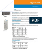 Datasheet GEL and AGM Batteries En
