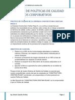 Politicas de Calidad y Objetivos.docx