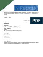 Indonesia's Ethanol Dilemma Jakarta Indonesia 12-26-2017