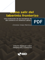 Como Salir Del Laberinto Fronterizo Una Evaluacion de Las Iniciativas de Facilitacion Del Comercio en America Latina y El Caribe