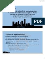 Los Cambios de Utilización de Suelo Alcalde Barranquitas V2