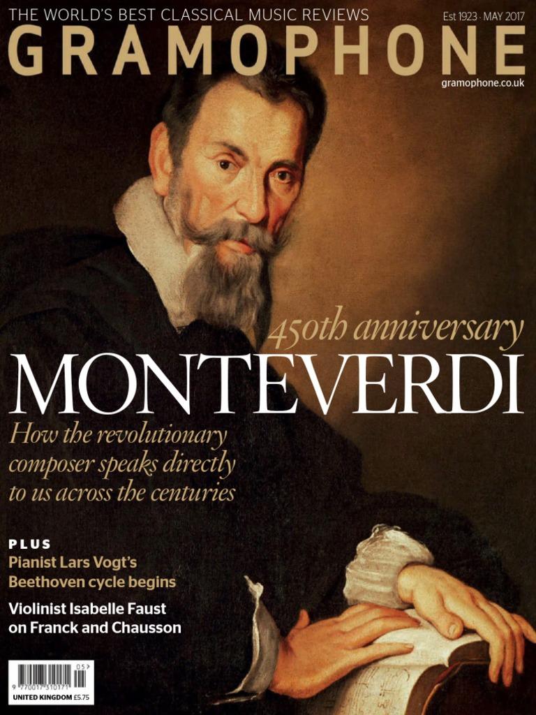 Vincenzo Rinaldi Nova Milanese gramophone 2017 05 | johann sebastian bach | orchestras