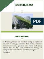 Green Buildings Pjg