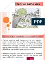 Building Bye- Laws