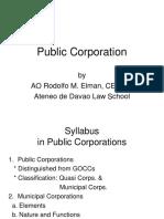Public Corporation 2012
