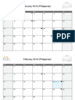 Philippines January 2018 - December 2018
