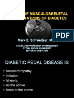 MSK Diabetes manifestation