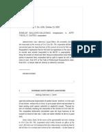 Dallong-Galicinao vs. Castro