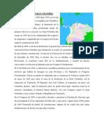 Separación de La Gran Colombia