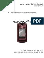 Service Manual RAZR² V9