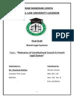 world legal system