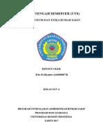 Tugas Aspek Hukum & Etika RS