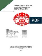 laporan kuliah sistem peradilan