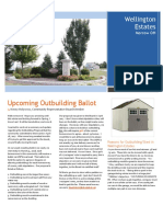 Wellington Estates Community Newsletter