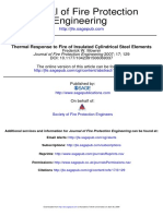 Thermal Response to Fire of InsulatedCylindrical Steel Elements.pdf