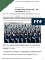 Agrupaciones Cuestionan Efectividad de Mesa Que Revisa Pensiones de Invalidez en FFAA « Diario y Radio Uchile