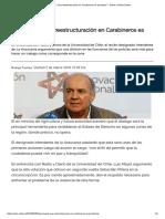 """Luis Mayol_ """"Una Reestructuración en Carabineros Es Prioritaria"""" « Diario y Radio Uchile"""