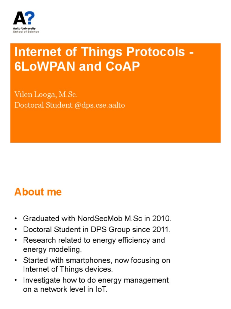 Lecture 8 - CoAP | Computer Network | Internet Protocols