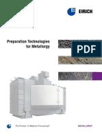 Preparation Technologies for Metallurgy