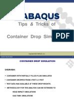 Container Bottle Drop