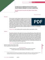 Practicas Corporales y Espacio Publico en La Plata 1