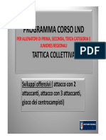 3CORSO LND Tattica Sviluppi Offensivi