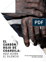 El carbón rojo de Coahuila