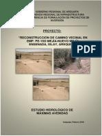 Informe Hidrologia La Ensenada