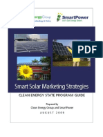 CEG Solar Marketing Report August 2009