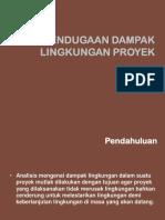 13. Pendugaan Dampak Lingkungan Proyek