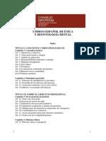 Codigo Etico y Deontologico