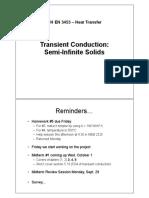Lecture 13 - Semi-Infinite Solids