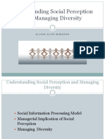Understanding Social Perception and Managing Diversity-1