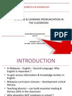 Phonetics Presentation