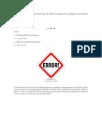 Conceptos de Error Linealidad