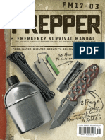 American Survival Guide, Prepper Survival Field Manual - Spring 2017