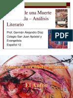 presentacioncronicadeunamuerteanunciadaanalisisliterario-140901160451-phpapp01