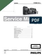 Philips+MP3+Mini+HI+FI+System+FWM613X