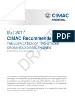Final Draft Recommendation 31 2017-06-23 CIMAC WG8-SG4 2-Stroke Lubrication