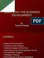 Marketing Environment & Competitor Analysis