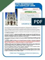 Boletín Apprece Castilla y León 1