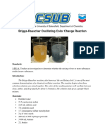Briggs-Rauscher Oscillating Color Change ReactionAO