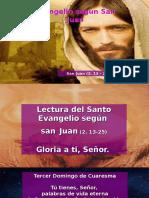 Evangelio San Juan 2, 13-25.pps