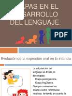 Etapas del lenguaje y desarrollo