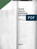 BOWLBY, J. Formação e Rompimento dos Laços Afetivos.pdf