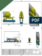 Soporte de Bomba Vertical Detalle de Isometrico 3
