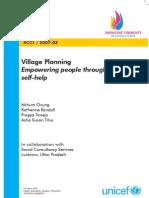 03 Village Planning Report