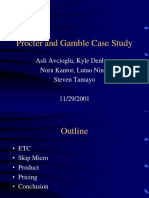 Procter and Gamble Case Study