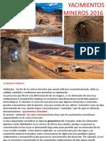2016 Geometa 5 Clases Yacimientos